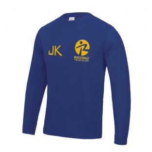 Rochdale Tri Club Long Sleeve Cool Tshirt